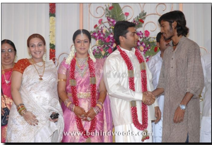 Actor Surya Wedding Photos