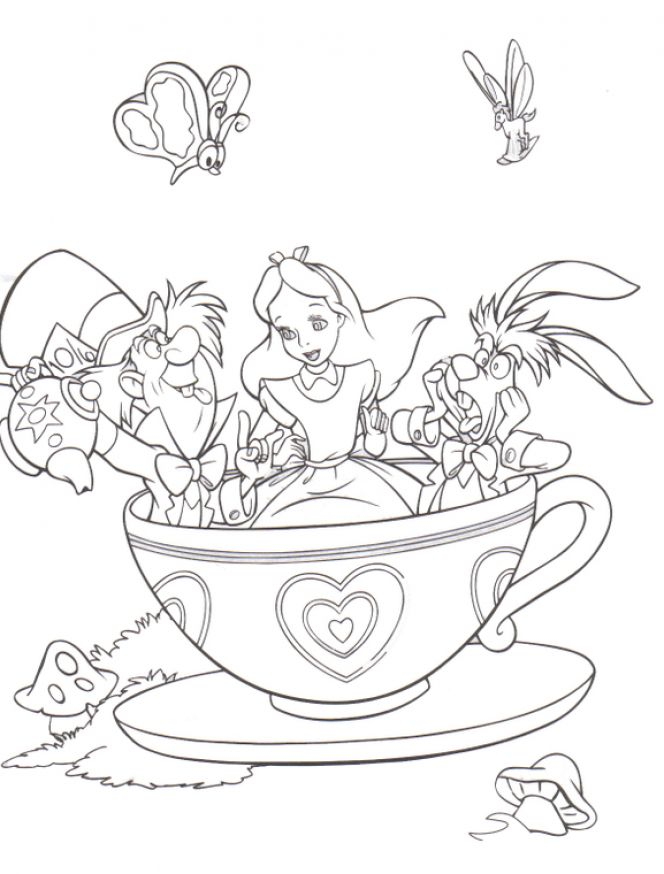 i am a little teapot coloring pages - photo #34
