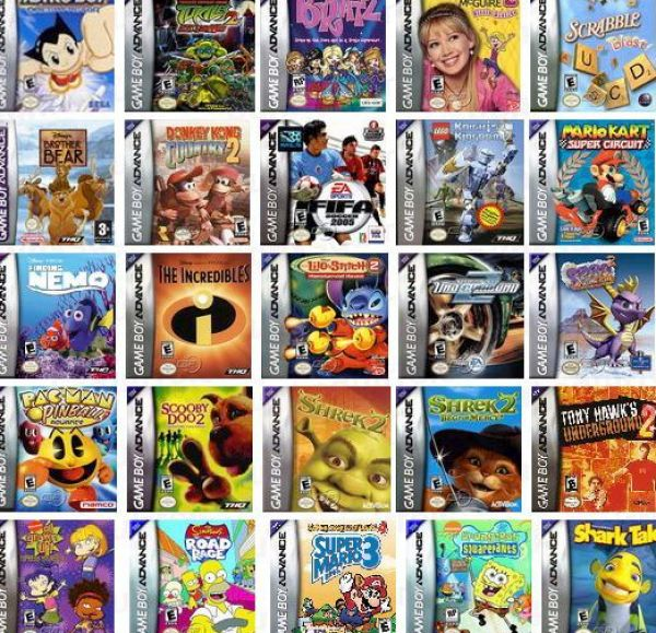top 100 gba games free download