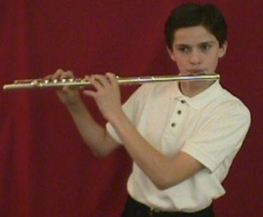 How to play a flute