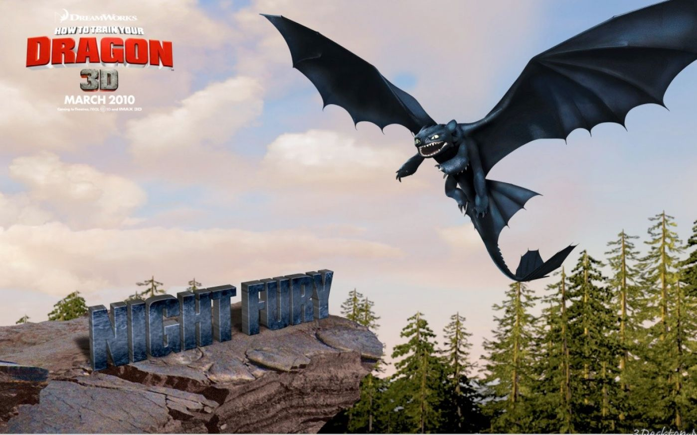 how to train your dragon 3 night fury