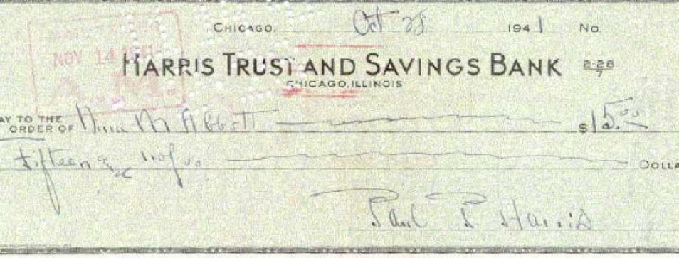 How to write a check for thousands