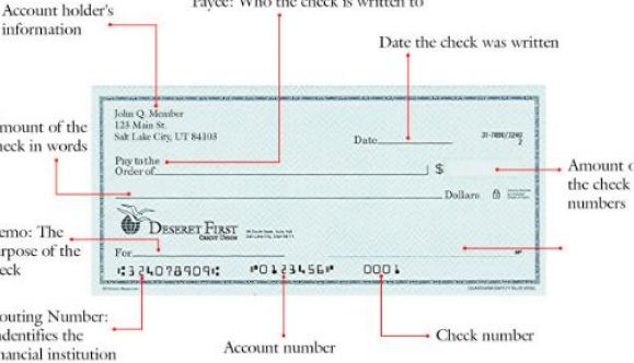 How to write a check for $2500 ?