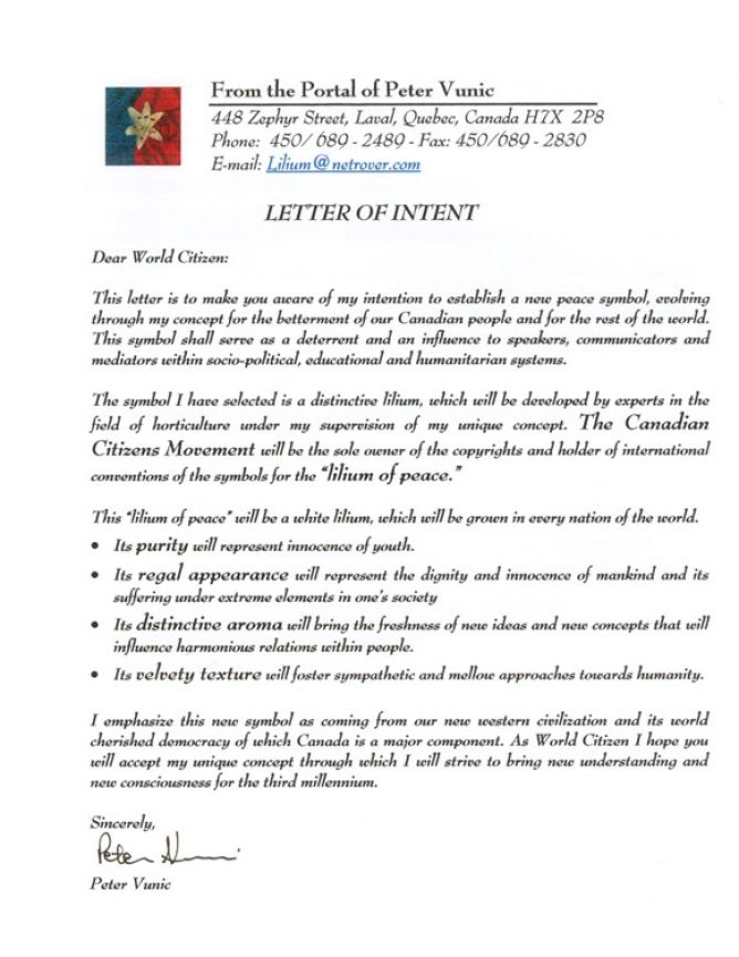 how to write a business letter of intent