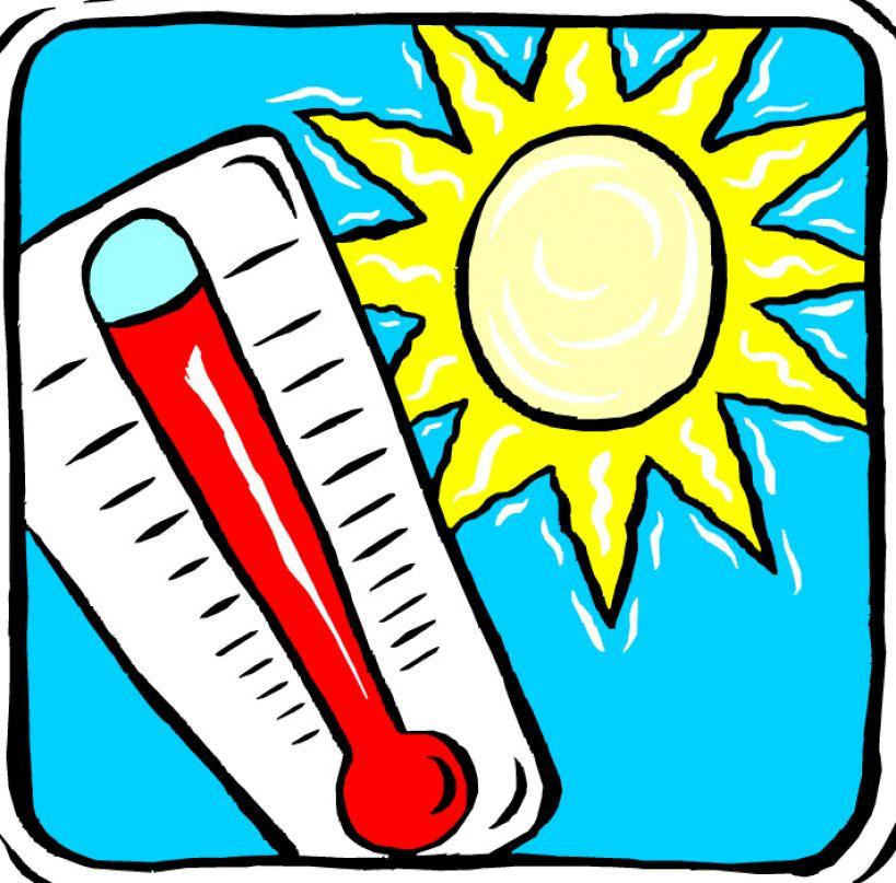 Very hot weather pictu...