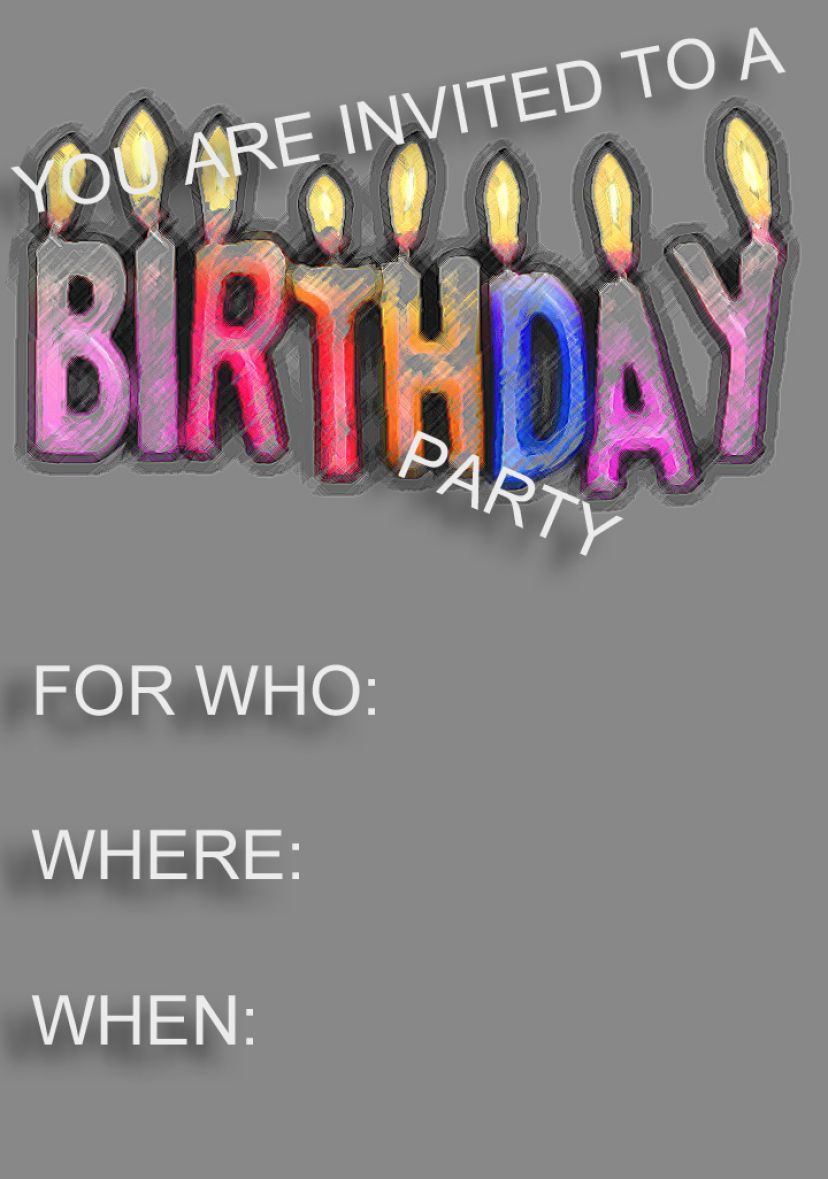 You are invited to a party at party invitations ideas
