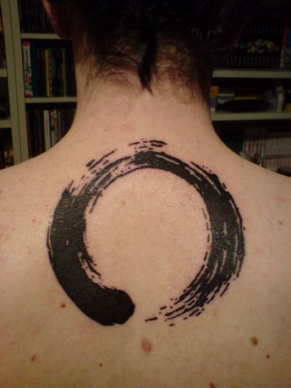 zen circle tattoo 1