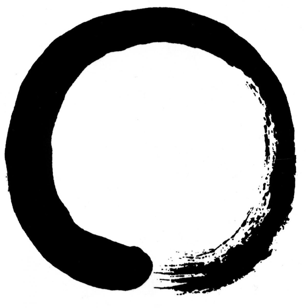Zen circle tattoo