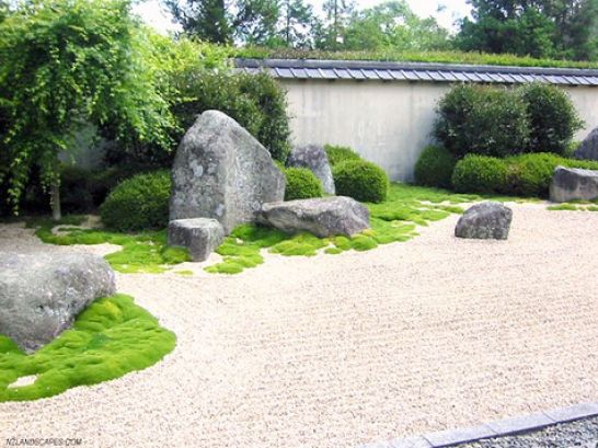 Zen garden design ideas for Backyard zen garden design